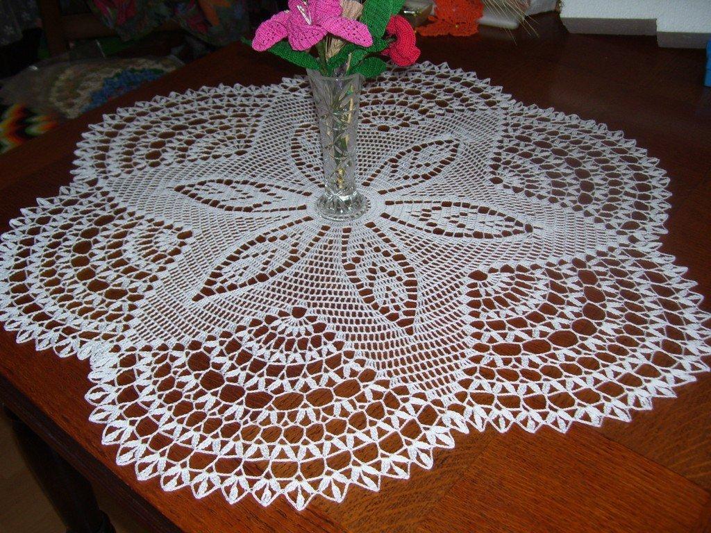Ma passion le crochet un super napperon - Modele tapis crochet gratuit ...